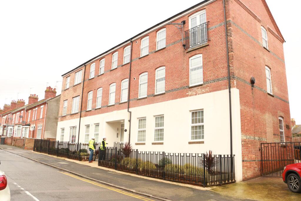 Arthur Court - former shoe factory now apartment building