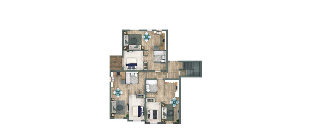 Cambridge Street Floor Plan