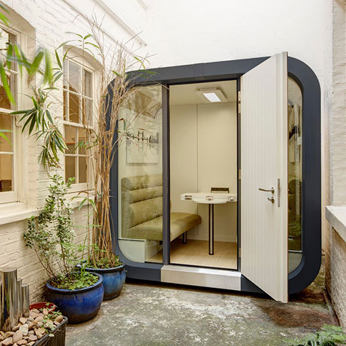 iCON Pods, perfect external office or meeting space